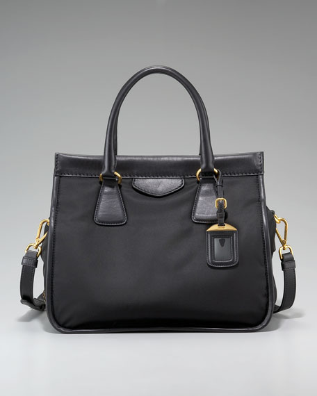 Medium Double Top Handle Shoulder Bag
