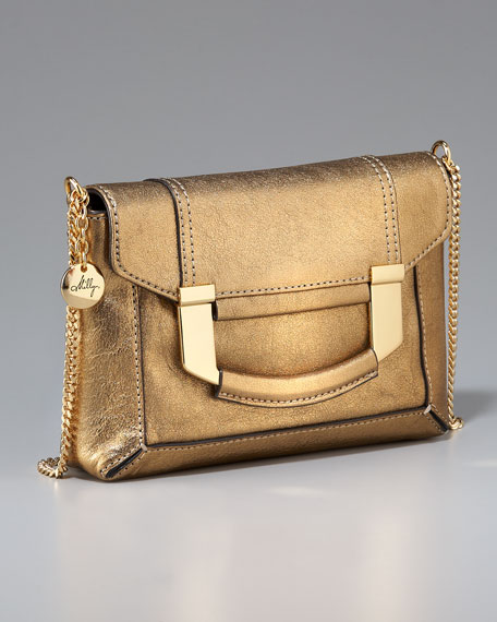 Paige Mini Bag, Gold