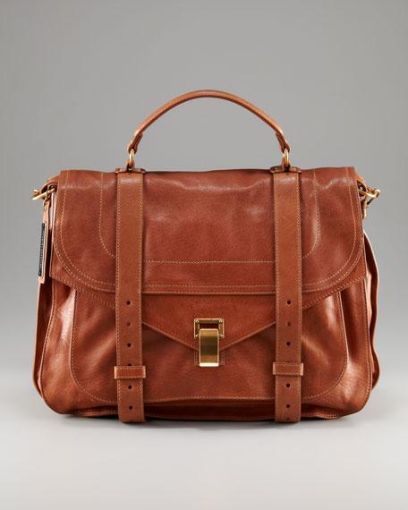 PS1 Calfskin Mailbag, XL