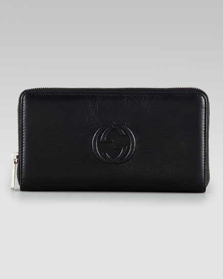 Extra Large Zip-Around Continental Wallet
