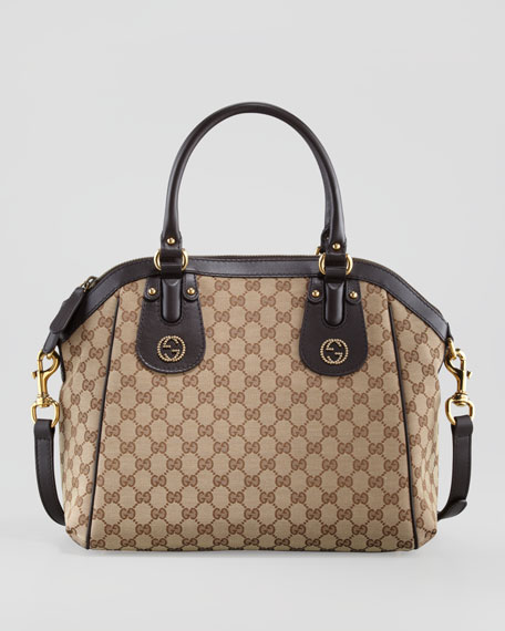 Scarlett Medium Top-Handle Tote Bag