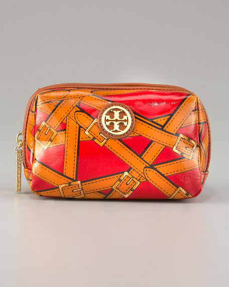 Andy Belt-Print Cosmetic Case