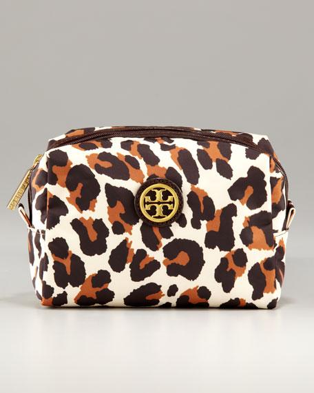 Brigitte Bengal Leopard Cosmetic Case