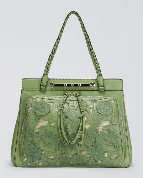 Demetra Lace Satchel Bag