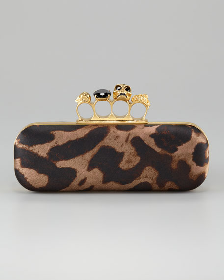 Knuckle-Duster Oblong Clutch Bag