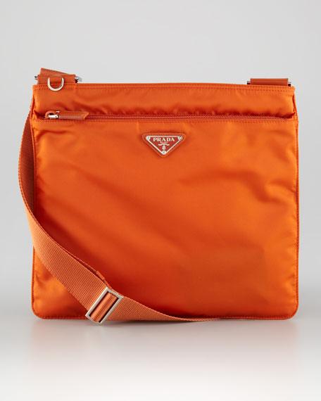 Medium Flat Crossbody Bag