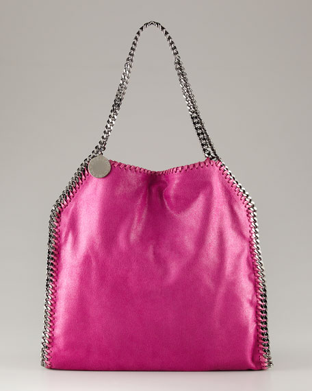 Stella McCartney Falabella Tote, Small Fuchsia