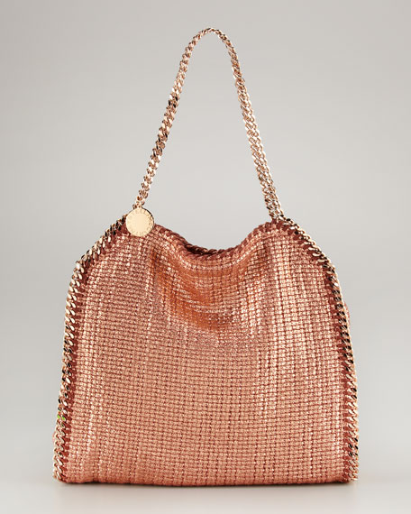 Falabella Metallic Small Tote Bag