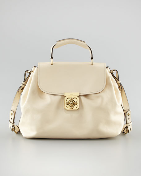 Elsie Satchel Bag With Shoulder Strap