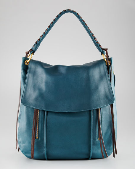 Christopher Kon Blake Flap Crossbody Hobo