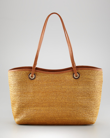 Candice Straw Tote Bag