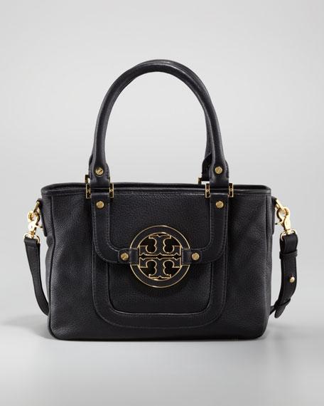Amanda Mini Satchel Bag, Black
