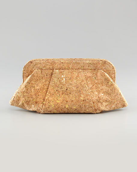 Tatum Cork Clutch Bag