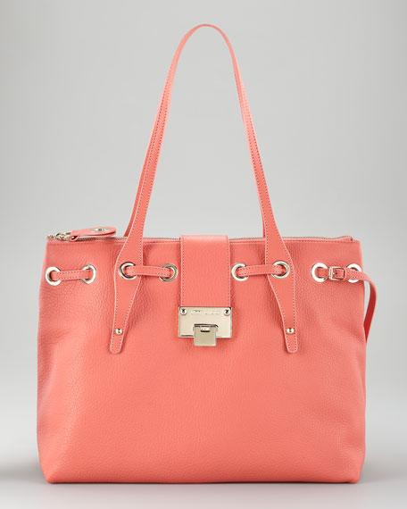 Rhea Zip-Top Tote Bag