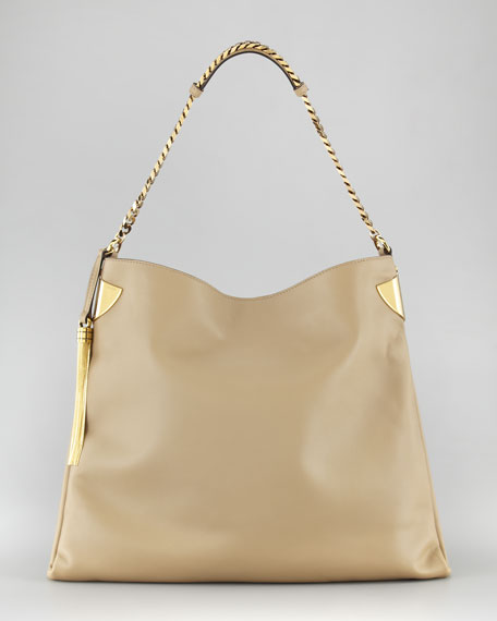 1970 Tassel Hobo Bag, Large