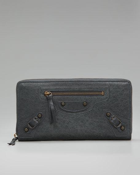 Classic Continental Zip Wallet