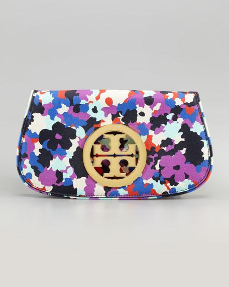 Floral Logo Clutch Bag