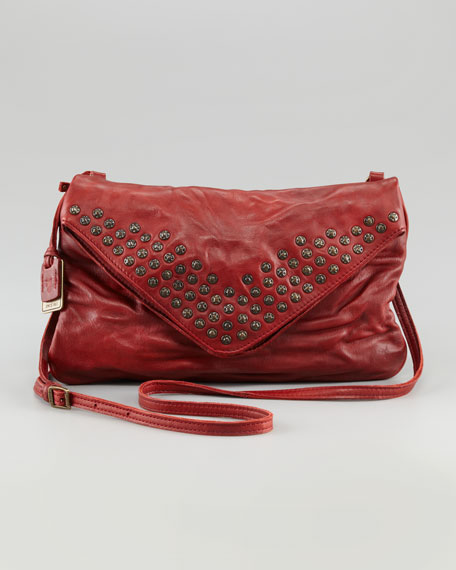 Brooke Studded Envelope Clutch Bag