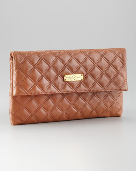 Eugenie Quilted Clutch Bag