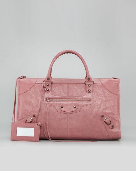 Classic Work Bag, Rose Bruyere