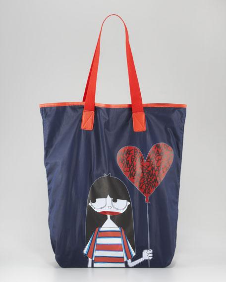Miss Marc Shopper Tote Bag