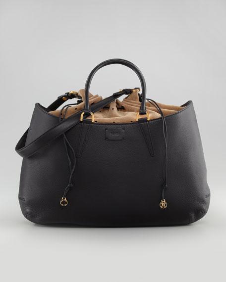 Large Top-Handle Tote Bag