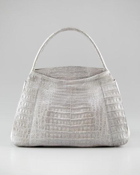 Slim Dome Satchel Bag, Medium