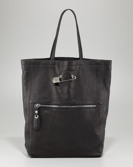 Zip-Front Tote Bag