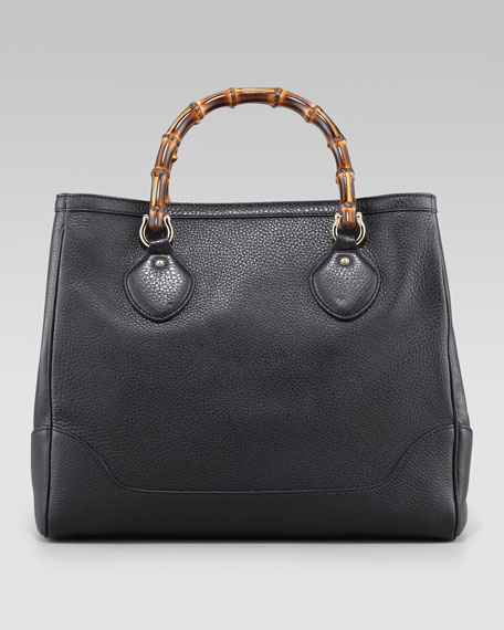 Diana Bamboo-Handle Hobo Bag, Medium