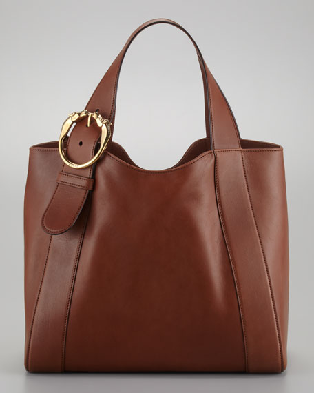 Ribot Medium Leather Tote Bag