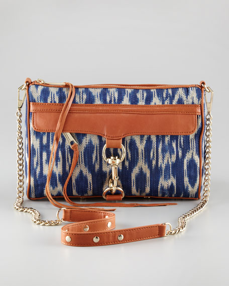 M.A.C. Ikat Clutch Bag