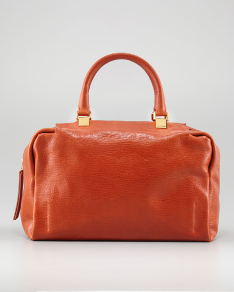 Moon River Bowling Bag, Orange