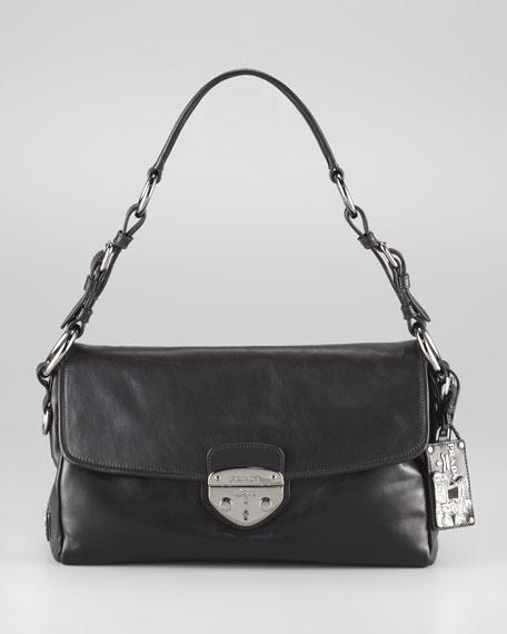 Soft Calfskin Shoulder Bag