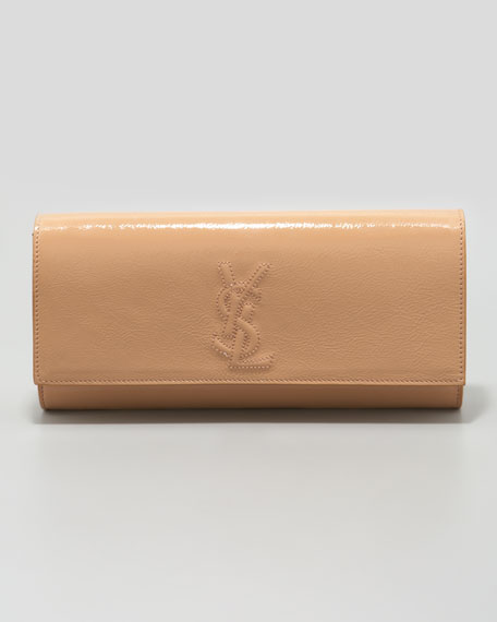 Belle De Jour Small Patent Clutch Bag