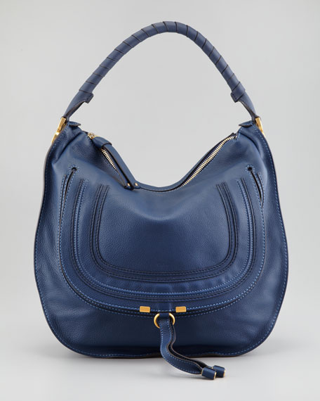 Marcie Large Hobo Bag, Royal
