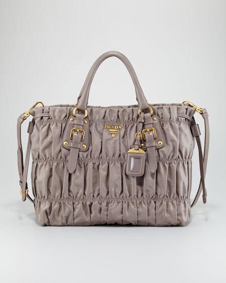 Tessuto Gauffre Large Tote Bag