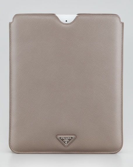 iPad Sleeve, Medium Gray