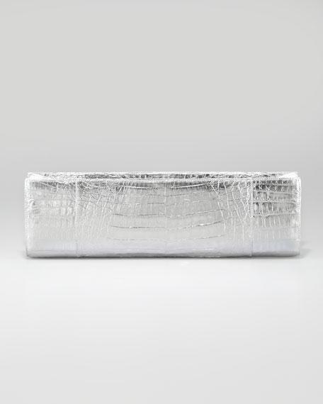 Slicer Crocodile Clutch Bag