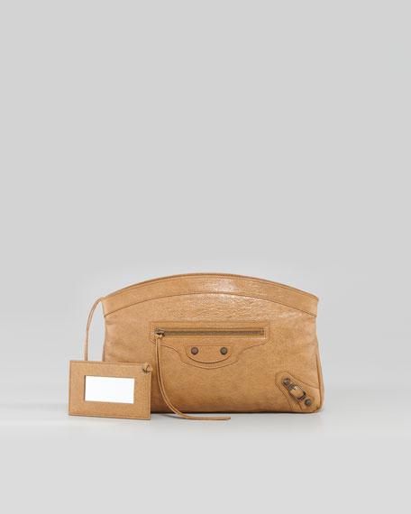Classic Premier Clutch Bag, Cumin