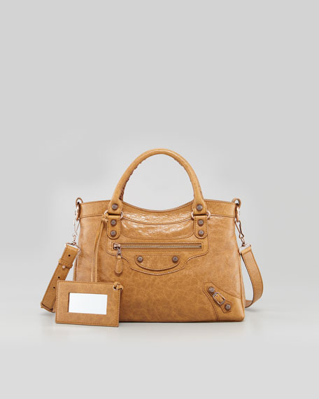 Giant 12 Rose Golden Town Bag
