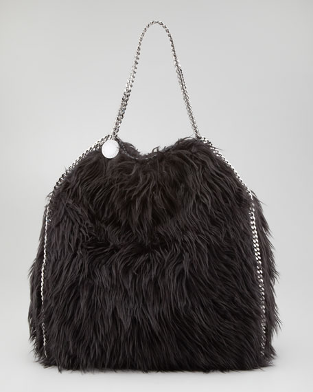 Furry Falabella Tote Bag, Large