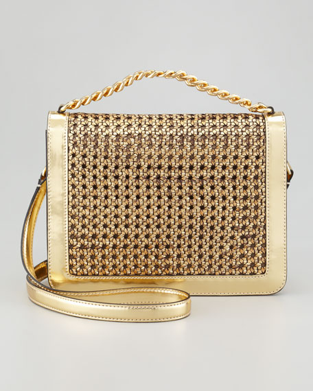 Pembridge Braided Crossbody Bag