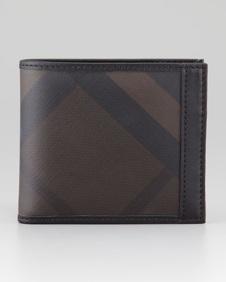 Check Window Wallet, Brown