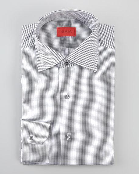 Mini Graph-Check Dress Shirt