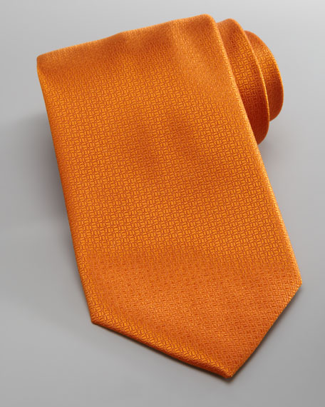 Pebbled Silk Tie