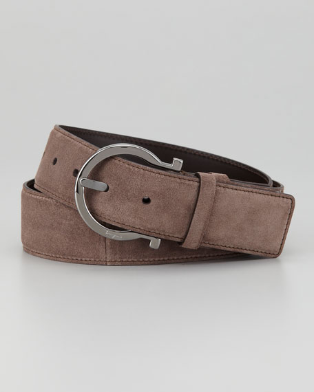 Giostra Suede D-Ring Belt