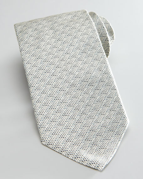 Tonal Textured Tie, Charcoal