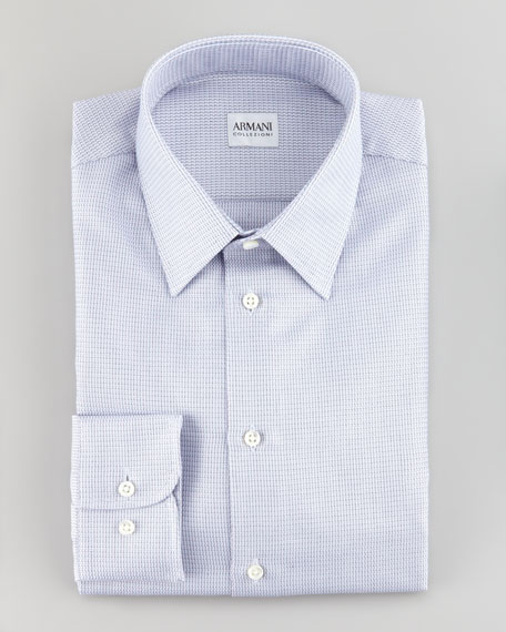 Microneat Woven Shirt, Lavender
