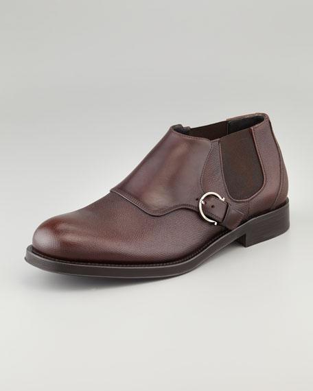 Amleto Short Boot, Brown