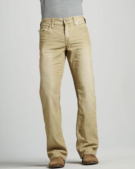 Ricky Corduroy Pants, Straw